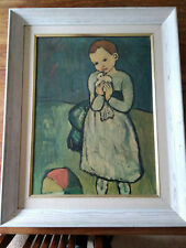 """""""Child with a Dove"""" Framed Painting by Pablo Picasso COPY 25""""x32"""""""