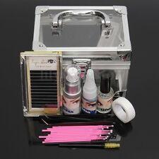 Pro Classic Individual Permanent Glue Lash Mink False Eyelash Extension Tool Kit