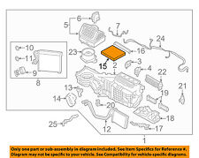 NISSAN OEM-Cabin Air Filter 27277VX01A