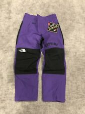 New Supreme The North Face Arc Logo Mountain Pant Purple Gore Tex Mens Large