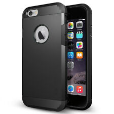 STEALTH BLACK TOUGH ARMOUR SHOCK CASE FOR IPHONE SE LIKE SPIGEN LIFEPROOF