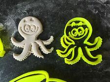 octopus sea animals set Cookie Fondant Cutter Cupcake Cake Decoration Gift Badge