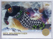 Nick Baumgartner 2014 Topps Winter Olympics Golden Rainbow Foil #100 Snowboard