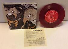 "Benard / Worn In Red - Split 7"" Red w/black/20 Jawbreaker Dillinger Four"