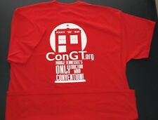 ConGT 2015 • Doctor Who Convention in Clarksville Tennessee • Mens XL T-Shirt