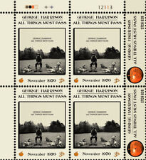 George Harrison - All Things Must Pass (Artistamp, Faux Postage, REPRO)