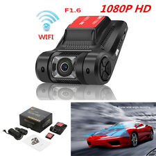 "Car Dash Cam DVR Recorder 2.45"" LCD 1080P 170° Wide Angle Camera w/ Night Vision"