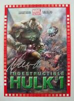 2014 Marvel NOW! Cutting Edge Covers #108 Hulk Mark Waid Auto Variant!