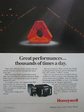 1991-92 PUB HONEYWELL LASER IRS INERTIAL REFERENCE SYSTEMS AIRLINE ORIGINAL AD