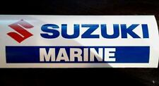 Suzuki Marine Decal Sticker Outboard 4 stroke 2 Bay bass Prop boat Fishing