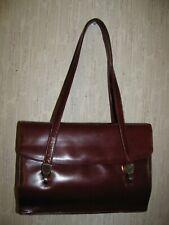 Vintage Koret Brown leather Satchel Handbag