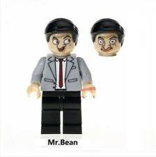 G3 - Mr. Bean - Rowan Atkinson - Custom Minifigure MOC LEGO - Nuovo in Blister