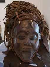 Masque africain. African mask Tchokwe