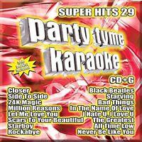 Various Artists - Party Tyme Karaoke: Super Hits, Vol. 29 [New CD]