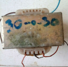 Transformer, 240 To 30 + 30 Volts AC chasis mount