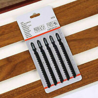 5teile/satz T-Schaft Gebogene Stichsägeblätter für Holz Schneiden H8U C3O4
