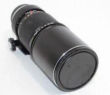 Olympus OM-System F.Zuiko Auto-T 300mm F4.5 Lens w/ Tripod Base, Caps - Free S&H
