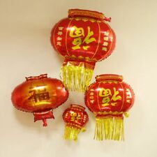 Blessing lucky Balloon Chinese new year Lantern Tensil Red Party Home decoration