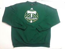 Portland Timbers Adidas Mens Medium Sweatshirt Green Crew MLS Soccer
