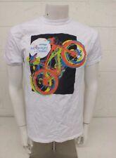 XP Gear White 100% Cotton Innovage Moonlight Classic Bike Ride T-Shirt Men's Med