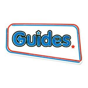 Guide logo PVC badge. OFFICIAL SUPPLIER.