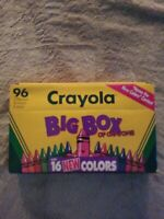 """Box Of Crayola Crayons 1993 Limited Edition. """"Name The New Color"""" Contest NOS"""