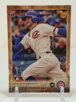 2015 Topps Update Throwback Variation SP Kris Bryant Chicago Cubs Rookie Card
