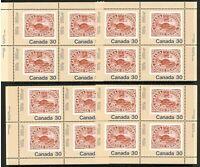 Canada, 1982, MNH , Matching Inscr. Blocks 4 , International Philatelic Youth