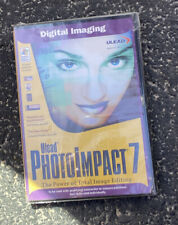 Ulead PhotoImpact 7 PC CD total digital image picture editing BRAND NEW SEALED