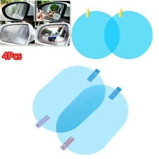 4x Car Rearview Mirror Rainproof Film High Transmittance Clear Screen Waterproof