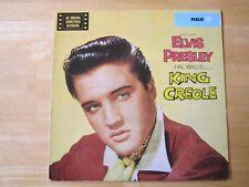 Elvis Presley LP, King Creole, RCA # LSP-1884, Made in Germany, Orange Label