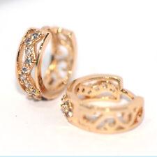 Small Earrings Jewelry Gold Filled For Little Girls Womens Hoop Huggie Earrings