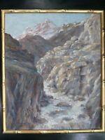 Berg- Pyrenäen um Pau von Paul Hang-Hu (1896-1963), Original Manchou