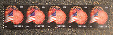 2014USA #4853 Forever Star Spangled Banner PNC - Coil Strip of 5 (CCL)  #C11111