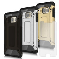 Mobile Armor For Samsung Galaxy S4 With Screen Protector Hybrid Smartphone Case