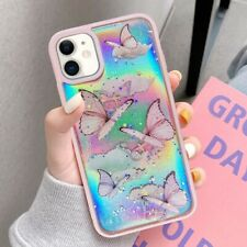 Luxury Bling Butterfly Soft TPU Case Cover Bumper for iPhone 11 Pro SE 7 8 XR XS