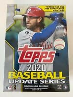 2020 Topps Update Blaster Box Sealed - 7 Packs/14 Cards 1 Coin, Arozarena,