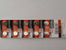 10 - New-Maxell Alkaline Battery-AG13-357A-LR44-Fast Shipping