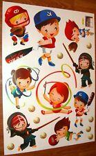 Baby Nursery Children Kid Girl Boy Sport Baseball Wall Sticker Decal Bedroom