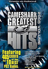 GameShark PS2 Greatest Hits: 465 Codes for 10 PS2 Games 2005, Volume 1