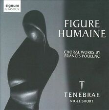 NEW Figure Humaine: Choral Works By Poulenc (Audio CD)