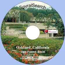 CA - Oakland 1968 Phone Book CD