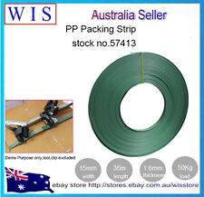 PP Packing Strip Plastic Hand Packing Blet Light Duty,15mm(W) x 36m(L)-57413