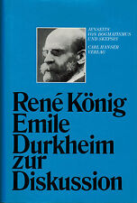Rene rey, Emile Durkheim para debate, más allá dogmatismo u escepticismo, 1978