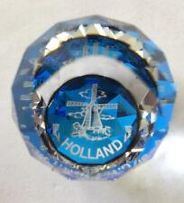 New ListingVintage Swarovski Holland Paperweight Windmill Blue