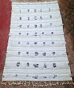 Moroccan Handira wedding blanket 177 x 112cm