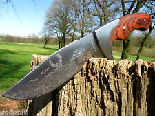 Couteau De Chasse Couteau Knife bowie Busch couteau coltello cuchillo couteau huting NEUF