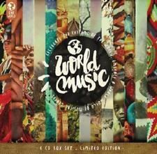 World Music - Various Artists feat. EDITH PIAF, CELIA CRUZ, LOS PANC 6CD Box NEU