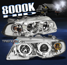 2000-2003 BMW E46 3 SERIES 2DR/2001+ M3 HALO LED PROJECTOR HEADLIGHT W/HID 8000K