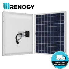 50 Watts Solar Panel Module Renogy 50W 12V Battery Charger Off Grid Marine Camp